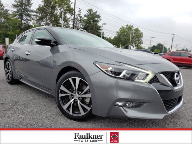 Certified Pre-Owned 2018 Nissan Maxima SV