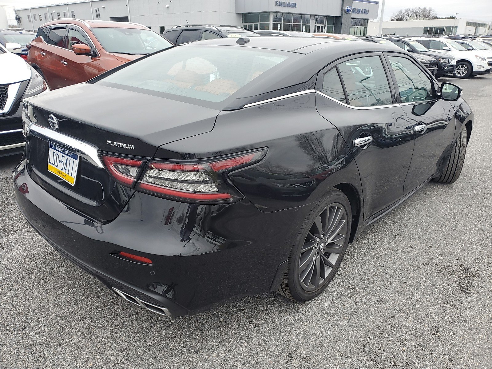 Certified Pre-Owned 2019 Nissan Maxima Platinum