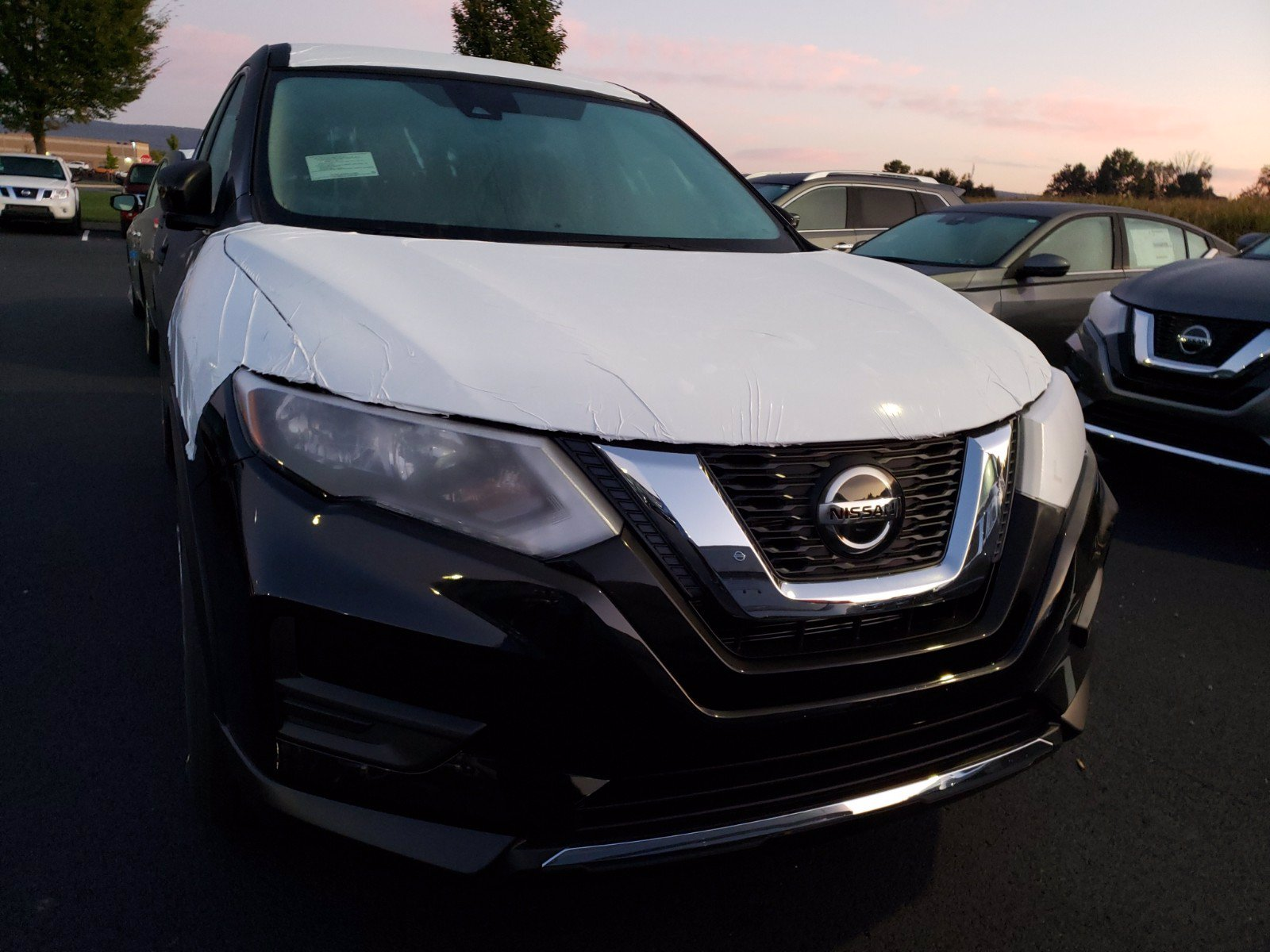 New 2020 Nissan Rogue S